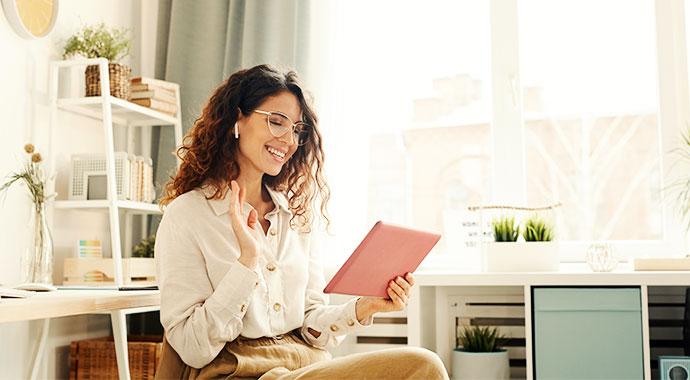 >Effektive Online Meetings durchführen