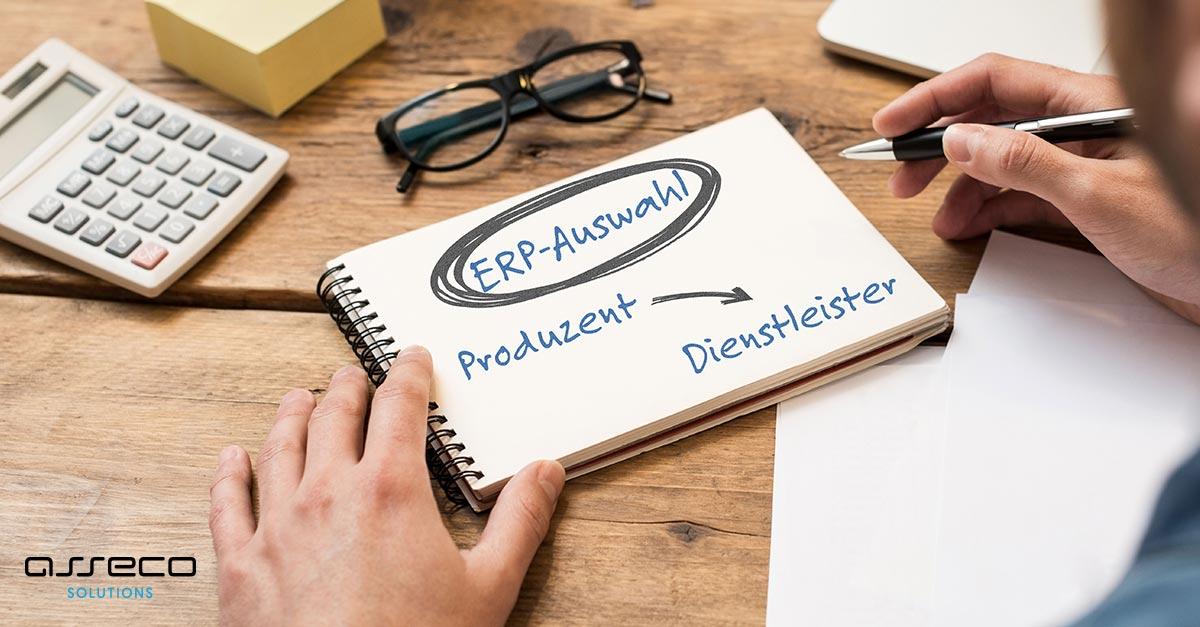 Vom Produzenten zum Dienstleister – Was heißt das für die ERP-Auswahl?