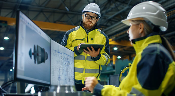ERP in der Produktion: Flexible Planung statt Zettelcha...