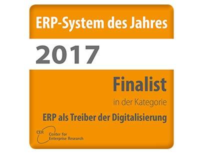 """""""ERP als Treiber der Digitalisierung"""": APplus für ERP-System des Jahres nominiert"""