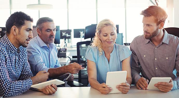 Digitale Zusammenarbeit verbessern